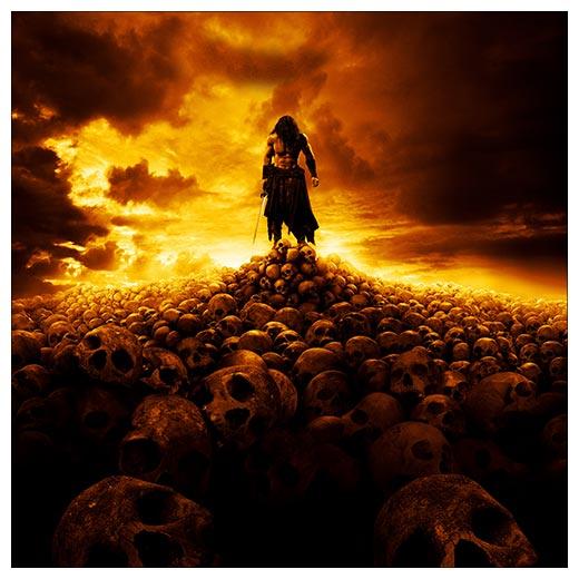 Хардпостер (на твёрдой основе) Conan the Barbarian / Конан-варвар